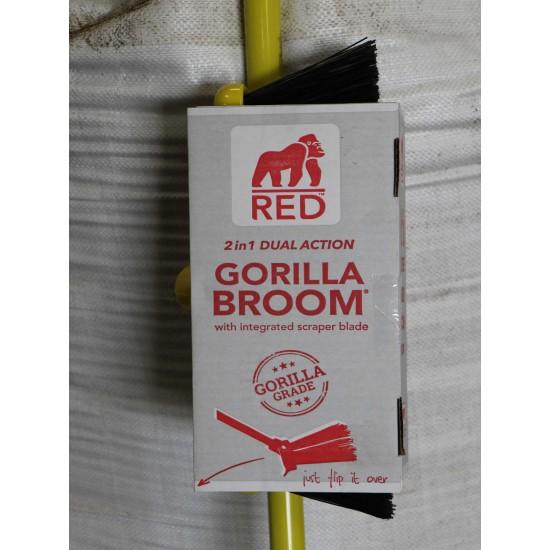 Gorilla Broom with Scraper